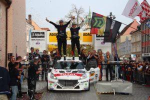 TEAM PEUGEOT ROMO DRM ADAC 3-Städte-Rallye © Peugeot