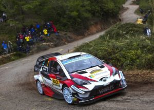 Toyota Gazoo Racing Rallye Spanien © Toyota Motorsport