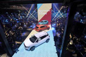 Weltpremiere Neuer VW T Cross © Volkswagen