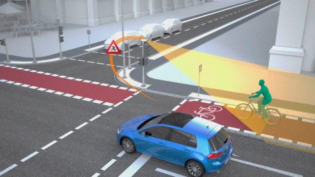 Volkswagen und Siemens machen Kreuzungen sicherer © Volkswagen AG