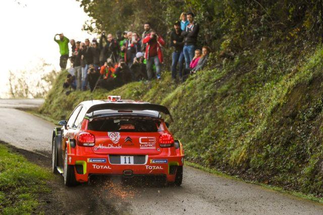 Vorschau Rallye Spanien Citroën C3 WRC © Citroen