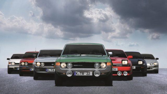 40 Jahre Toyota Celica © Toyota