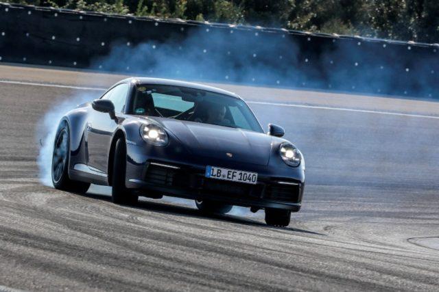 Erprobungsprogramm für die neue 911-Generation © Porsche