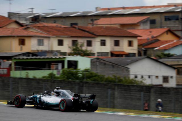 Formel 1 - Mercedes-AMG Petronas Motorsport, Großer Preis von Brasilien 2018. Lewis Hamilton © Mercedes-AMG Petronas Motorsport