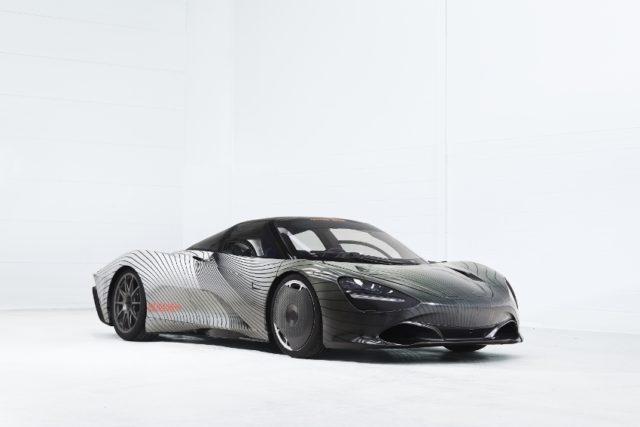 McLaren Speedtail Muster-Prototyp, 'Albert' © McLaren
