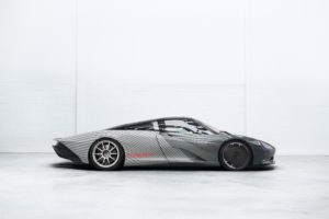McLaren Speedtai lAttribute Prototype-Albert Seitenansicht © McLaren