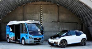 Motor und Batterie des BMW i3 nun auch für den voll-elektrischen Karsan Jest Stadtbus © BMW AG