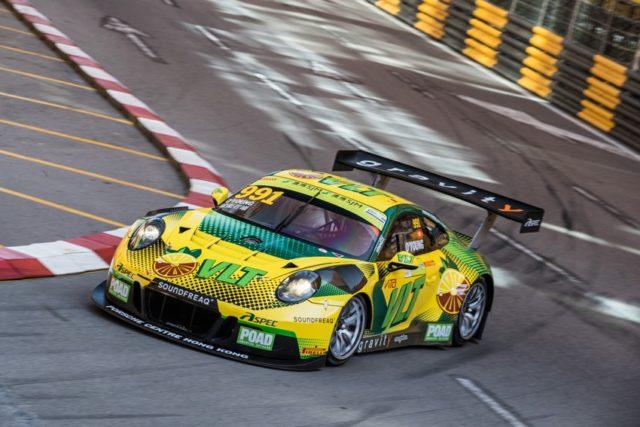 Porsche 911 GT3 R, Craft Bamboo Racing (55), Darryl O'Young (HKG) © Porsche Motorsport