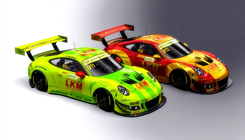 fia gt world cup in macau vier porsche 911 gt3 r beim h rtesten stadtrennen der welt. Black Bedroom Furniture Sets. Home Design Ideas