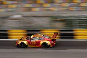 Porsche 911 GT3 R, Manthey-Racing (912), Earl Bamber (NZ), Macau 2018 © Porsche Motorsport