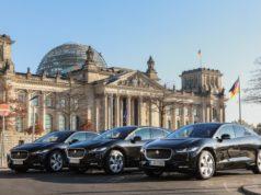 Vollelektrische Premium-Chauffeurflotte startet mit zehn Jaguar I-PACE in Berlin © Jaguar