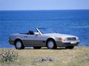 Vor 30 Jahren hat der Mercedes-Benz SL der Baureihe R 129 Premiere © Daimler AG