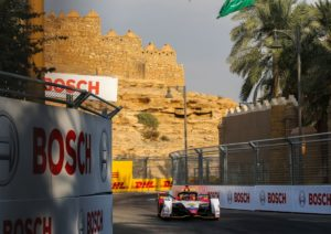 Formula E, Ad Diriyah E-Prix 2018 Audi e-tron FE05 #66 (Audi Sport ABT Schaeffler), Daniel Abt  © Audi Communications Motorsport / Michael Kunkel