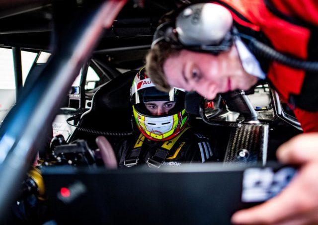 Jonathan Aberdein © Audi Communications Motorsport / Malte Christians