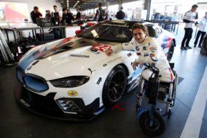 24 h Daytona 2019 Daytona International Speedway, test, BMW M8 GTE #24, Alessandro Zanardi (ITA) © BMW Motorsport