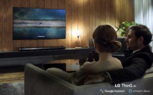 LG TV Lineup 2019 LG ThinQ AI TV © LG Electronics