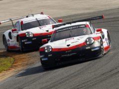 Porsche 911 RSR, Porsche GT Team (912) Earl Bamber, Mathieu Jaminet, Porsche GT Team (911) Patrick Pilet, Nick Tandy, Frederic Makowiecki, © Porsche Motorsport