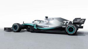 Mercedes-AMG Petronas Motorsport, F1 W10 EQ Power+ Seitenansicht © Mercedes-AMG-Petronas-Motorsport