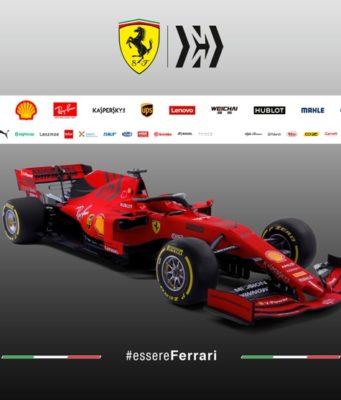 Formel 1 Ferrari SF90 für die Saison 2019 © Scuderia Ferrari