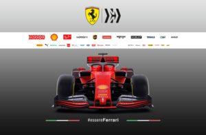 Formel 1 Ferrari SF90 Frontansicht für die Saison 2019 © Scuderia Ferrari