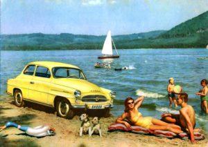 Eine Legende wird 60: Der SKODA OCTAVIA feiert Jubiläum. Im Januar 1959 rollten die ersten Exemplare dieser legendären Modellreihe im Werk Mladá Boleslav vom Band. Mitte der 1990er-Jahre übernahmen die ersten OCTAVIA der neuen Generation das Erbe des beliebten Kompaktmodells © Skoda